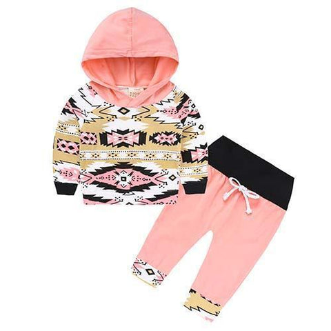 2-Piece Set Parts Symbols - Hoody & Pants Together - Children Baby Clothing 18M - Serene Parents