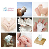BABY SCULPT - Footprints Molding Kit Feet and Hands Baby Baby souvenir 100g (1 molding / foot or hand) - Serene Parents