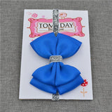 Elastic Bowtie Headband Kids Accessories Royal blue / Unique size - Serene Parents