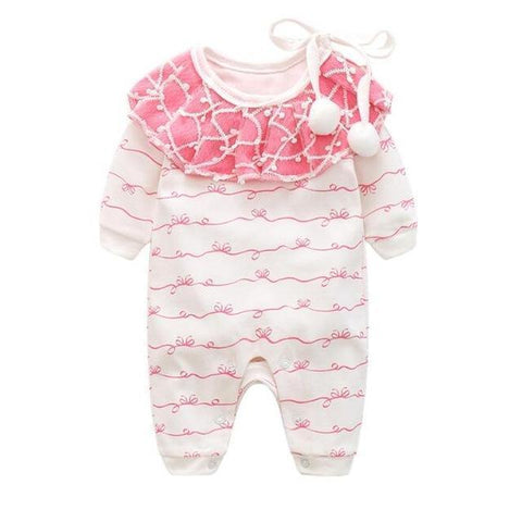 Harlequin Pink Pajama Suit Pajamas - Combination - Kids Clothing 3M - Serene Parents
