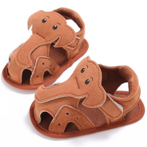 Herald - Elephant Kids Sandals Baby Shoes Brown / 6M - Serene Parents