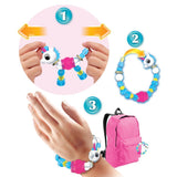 Magic Twist - Magic Pet Bracelet (2018) Magic Pet Bracelet Unicorn (transparent) - Only a few items left - Serene Parents