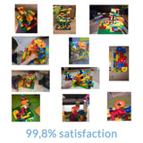 Marbly Run - Marble Run Track Kids Toy 52 pcs - Basic Pack - Serene Parents