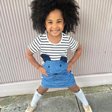 Micy - Sailor Dress in Denim Child Clothing Long sleeves / 2-3 years - Serene Parents