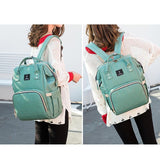My Baby Bag 2.0 - Multi-function USB Maternity Backpack Maternity Bag Green - Few Items Left - Serene Parents