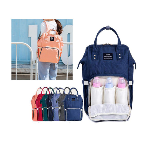 My Baby Bag - Backpack Maternity Multi-function Bag Maternity NAVY BLUE - Serene Parents