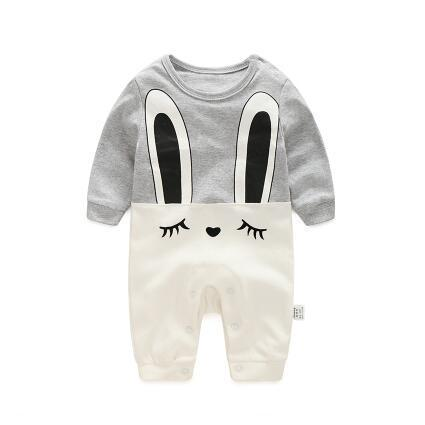 One Piece Jumpsuit Pajamas Bunny Pajamas - Combination - Kids Clothing 3M - Serene Parents