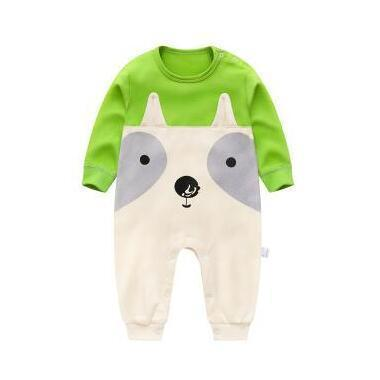 One Piece Jumpsuit Pooh pajamas Green Pajamas - Combination - Kids Clothing 3M - Serene Parents
