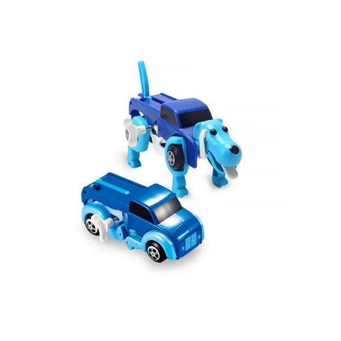 Oscar the Dog-Car Magic Children toy BLUE - Serene Parents