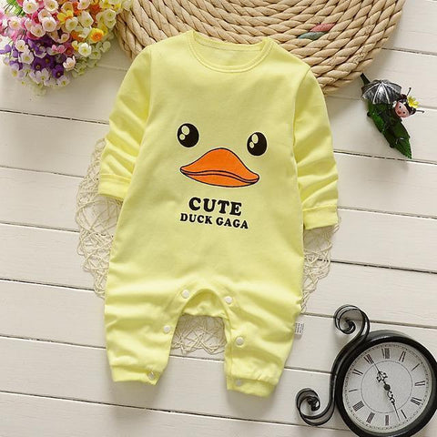 Pajama One Piece Jumpsuit Reasons To Cotton - Canari Pajamas - Combination - Kids Clothing Canary / 3M - Serene Parents