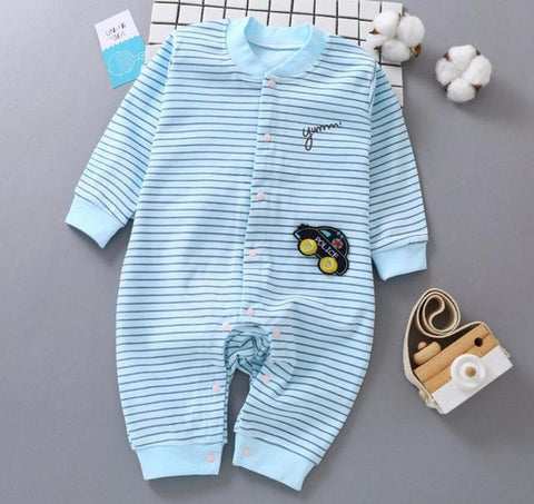Pajama One Piece Jumpsuit Reasons To Cotton - Sailor Pajamas - Combination - Kids Clothing sailor / 3M - Serene Parents