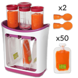 POUCH'EAT - Conditioning Station and Baby Food Maker Conditioning Station and Baby Food Maker Standard - SOLD OUT / + 50 Pouches (+ $49.99) - Serene Parents