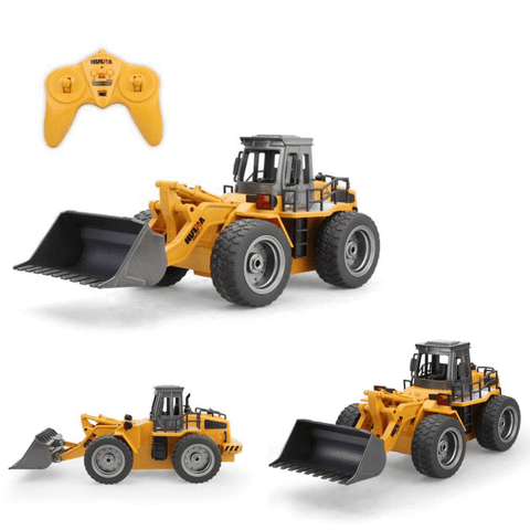 RC Duty - Remote Controlled Bulldozer Remote Controlled Construction Vehicle - Serene Parents