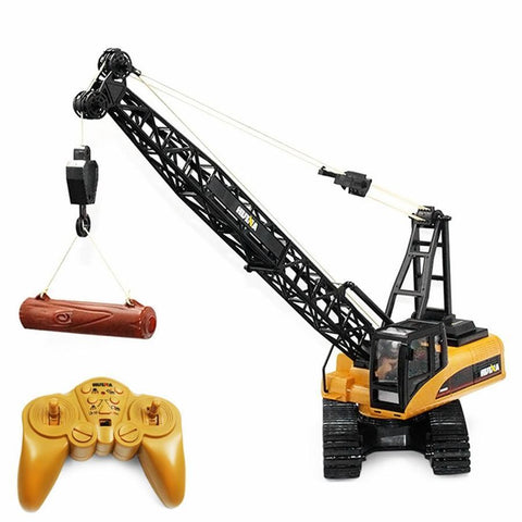 RC Duty - Remote Controlled Crane Remote Controlled Construction Vehicle - Serene Parents