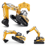 RC Duty - Remote Controlled Excavator Remote Controlled Construction Vehicle - Serene Parents