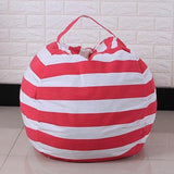 StuffSit - Plush Storage Bag Children toy M (1.4m) / Red - Serene Parents