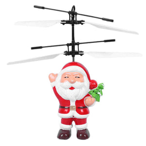 Flying Santa Claus Drone Stocking Stuffer - EASY TO FLY