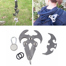 Load image into Gallery viewer, Ninja Grappling Hook Stainless Steel Magnetic Folding Climbing Claw