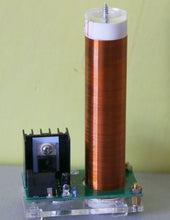 Load image into Gallery viewer, Mini Tesla coil With Power supply