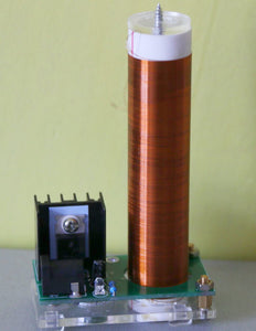 Mini Tesla coil With Power supply