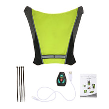 Load image into Gallery viewer, Cycling Turning Signal Reflective Vest