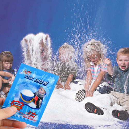 Artificial Instant Snow - Just add Water!