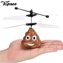 Load image into Gallery viewer, Flying Poop Emoji Drone - EASY TO FLY