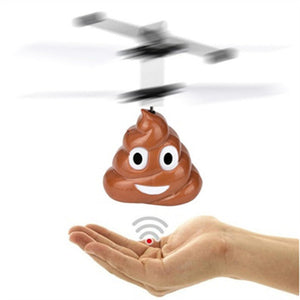 Flying Poop Emoji Drone - EASY TO FLY