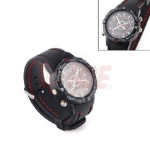 Load image into Gallery viewer, Spy Waterproof Hidden Camera Watch 8GB