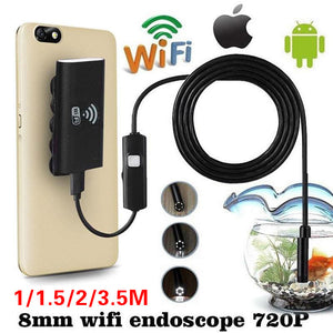 Spy Camera 3.5m Endoscope 8mm