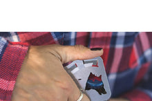 Load image into Gallery viewer, Credit Card Pocket Knife Folding Blade