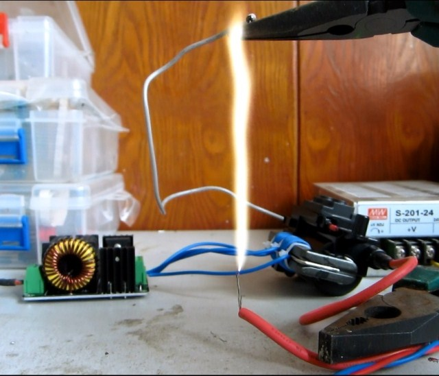 DIY Tesla Coil Wireless Transmission Module of High Voltage Arcl Cool DIY High Voltage Power Supply