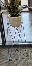 "Load image into Gallery viewer, Tri Quad 19"" Plant Stand"