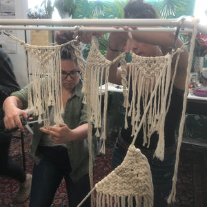 Macrame Workshops - Spring 2020