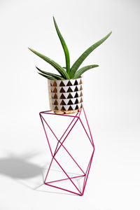 "9 Points 15"" Plant Stand - single color"