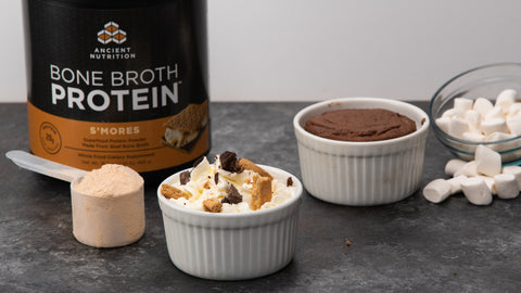Bone Broth Protein S'mores Mug Cake