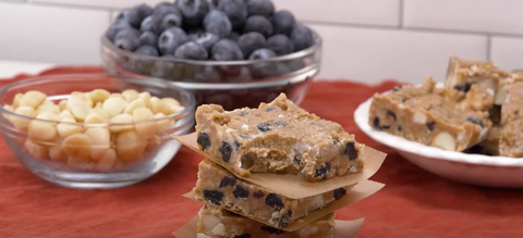 Bone Broth Protein Blueberry Macadamia Nut Bar Recipe