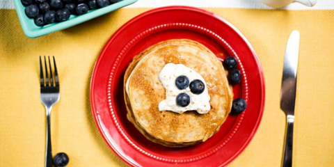 Paleo Protein Pancakes Recipe with Bone Broth Protein