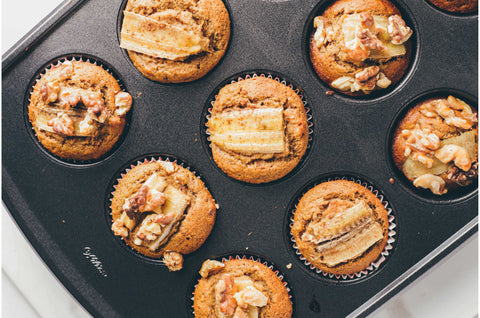 Banana Nut Muffins Recipe with Multi Collagen Protein