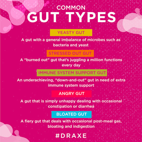 Common gut types