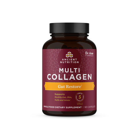 Multi Collagen Capsules - Gut Restore, 90 Count