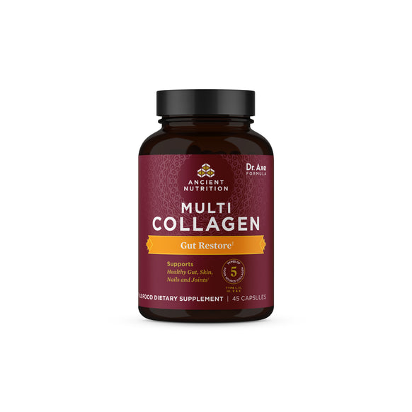 Multi Collagen Peptides Capsules Gut Restore (45 Capsules)