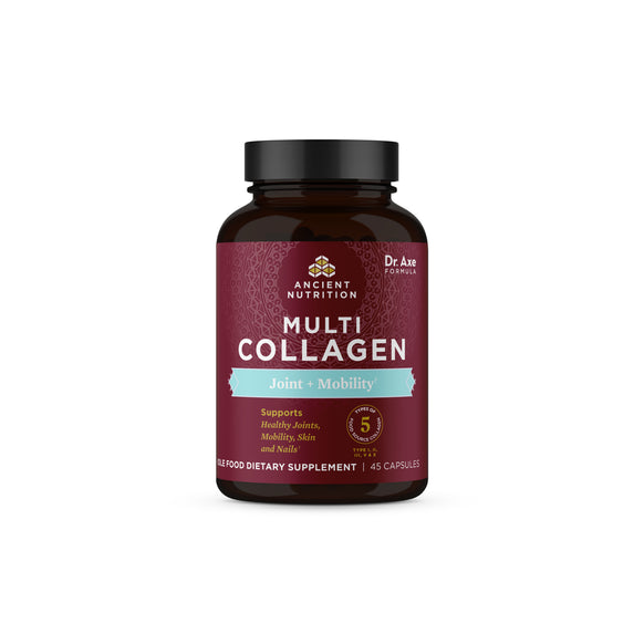 Multi Collagen Capsules - Joint + Mobility, 45 Count