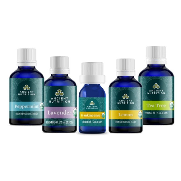 Certified Organic Essential Oils Starter Kit
