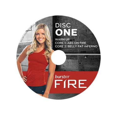 BurstFit Fire DVD's