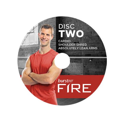 BurstFit Fire DVDs