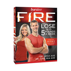 Photo of BurstFit Fire DVDs