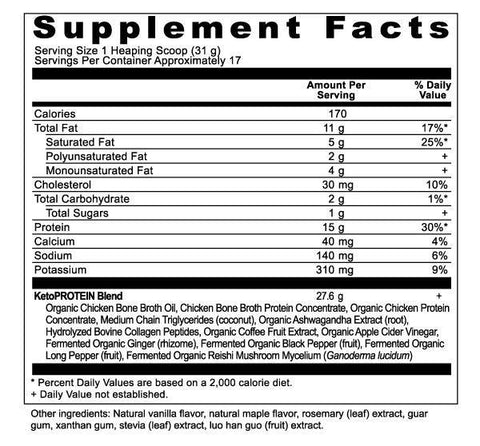 Keto360 Core Supplements