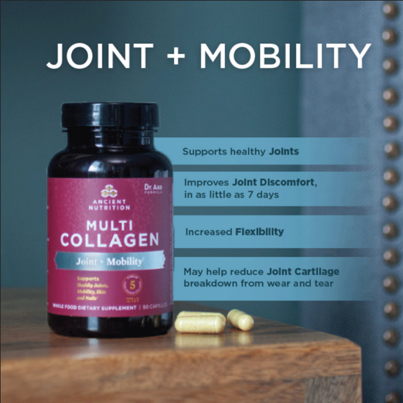 Multi Collagen Capsules - Joint + Mobility, 90 Count
