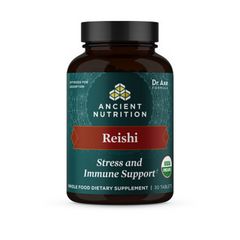 Photo of Reishi Stress and Immune Support Tablets (30 Tablets)